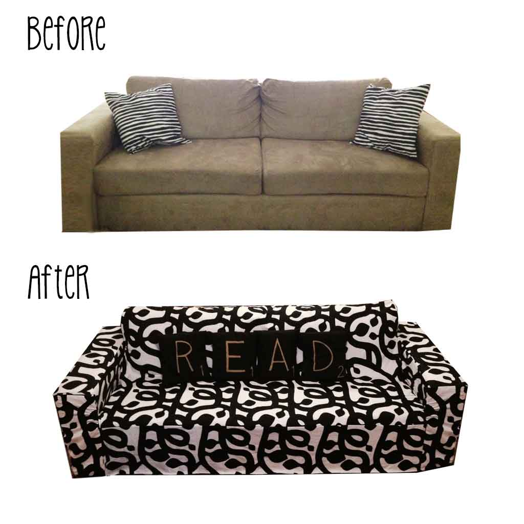 DIY: Sofa Slip Cover | nonapie