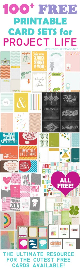 Printable-Project-Life-Cards